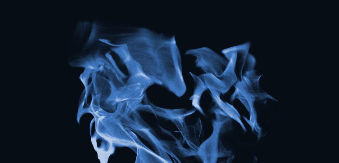 combustión en una caldera a gas